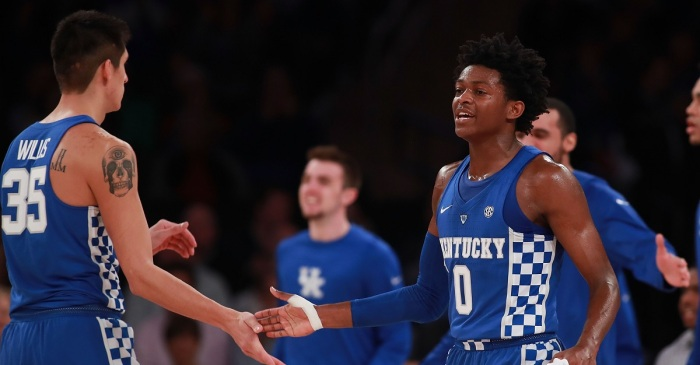Kentucky back on top of AP Poll in Week 2
