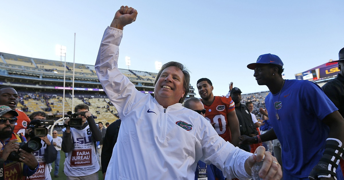 Florida's Jim McElwain becomes the latest to fire shots at Harbaugh, Michigan over roster