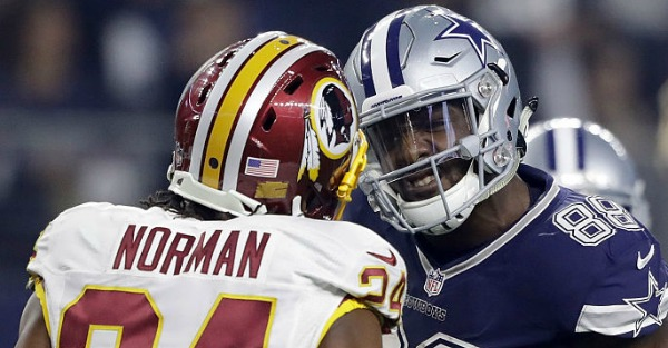 Film shows Josh Norman's cheap shot at Dez Bryant