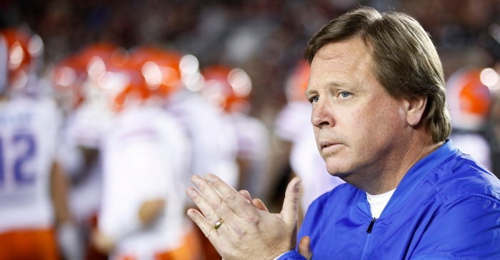 Florida has officially announced the firing of Jim McElwain
