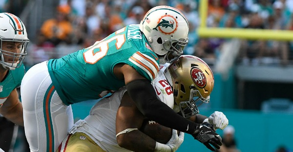 Things accidentally got very NSFW during the Dolphins-Niners game