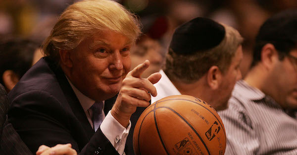 NBA teams have reportedly joined in the protest of Donald Trump