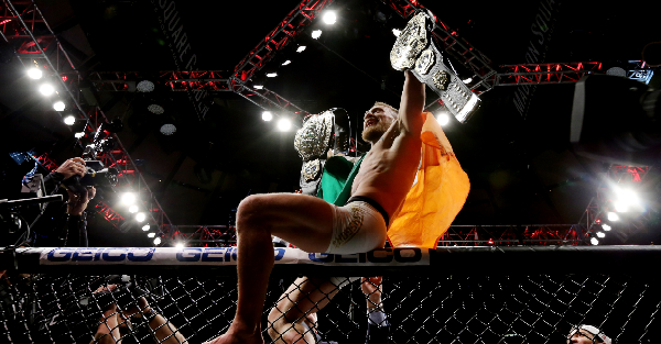 "Conor McGregor finally shares ""big announcement"" after making UFC history in TKO victory over Eddie Alvarez"