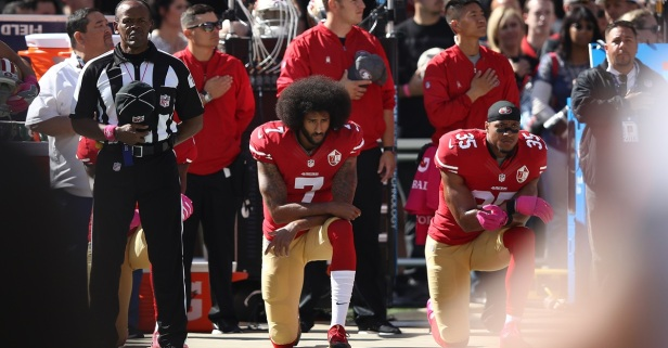 Kaepernick Sat Exactly 4 Years Ago, And His Message is Louder Than Ever