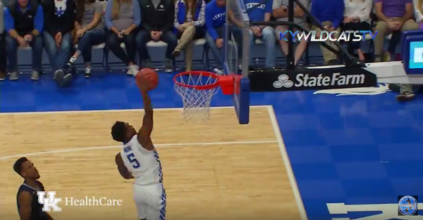 Kentucky just hung a ridiculous 156 points on some poor team