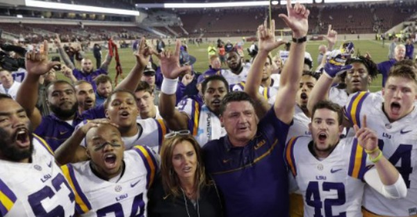 Following a big win, LSU players tell everyone, loud and clear, who they want as head coach