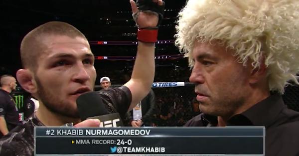 """Chicken"" Conor McGregor got called out from his worst nightmare — unbeaten Khabib Nurmagomedov"