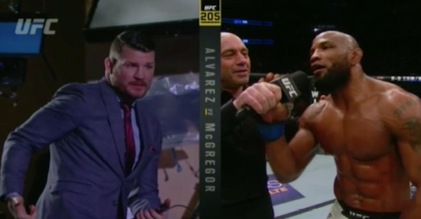 "Michael Bisping announces his next opponent, saying he hasn't ""ducked"" anyone"