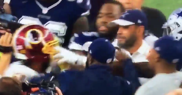 "Dez Bryant roasted ""exposed"" Josh Norman during and after Thanksgiving Day win"