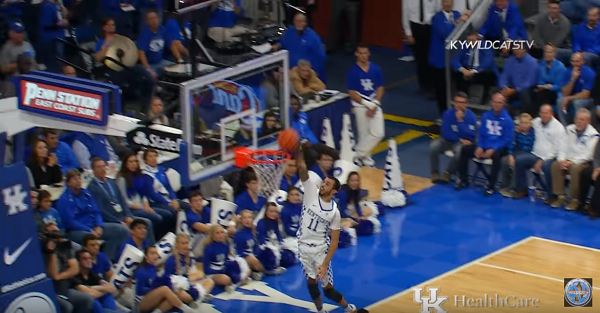 Kentucky demolishes Cleveland State heading into Thanksgiving