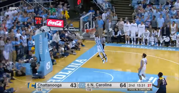 UNC annihilates tough mid-major behind balanced scoring