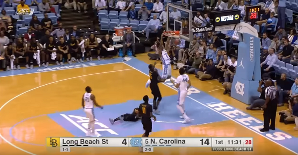 UNC dominates Long Beach State behind Justin Jackson's double-double