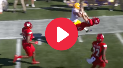 Derrius Guice's Massive Hit on a Kicker Was Just Mean