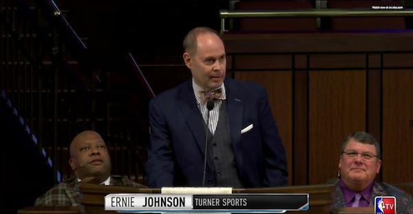Ernie Johnson had the perfect memorial speech for Craig Sager