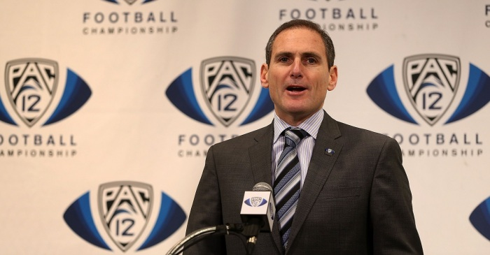 Pac-12 commissioner fires shots at ESPN after College Football Playoff drama