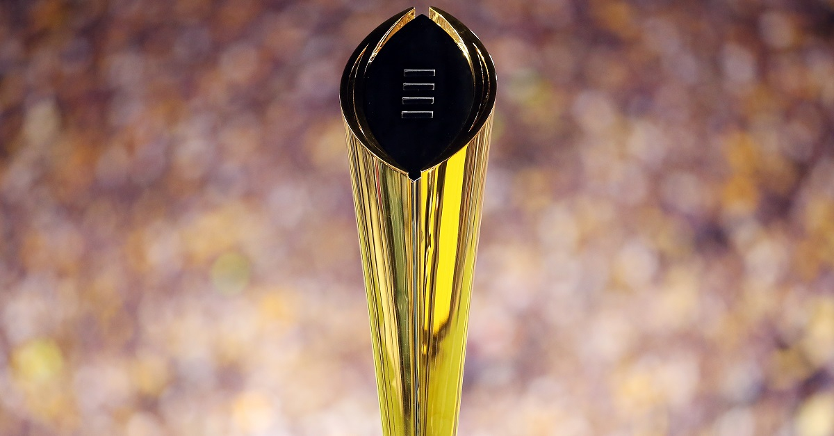 One sizable favorite emerges in updated national championship title odds
