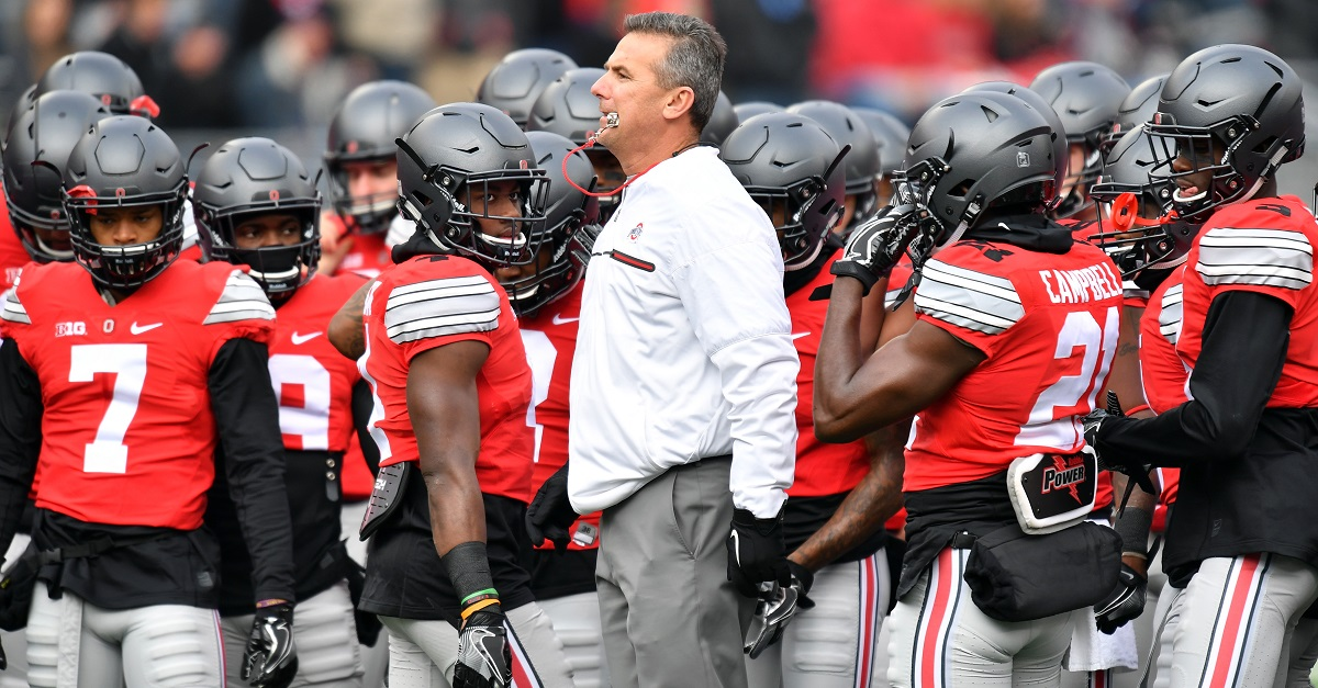 Even fellow Ohio State teams are taking shots at Urban Meyer after miserable weekend