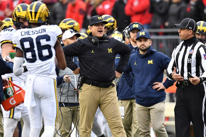 Former ref and VP of NFL Officiating rips Harbaugh for post-OSU ref rant