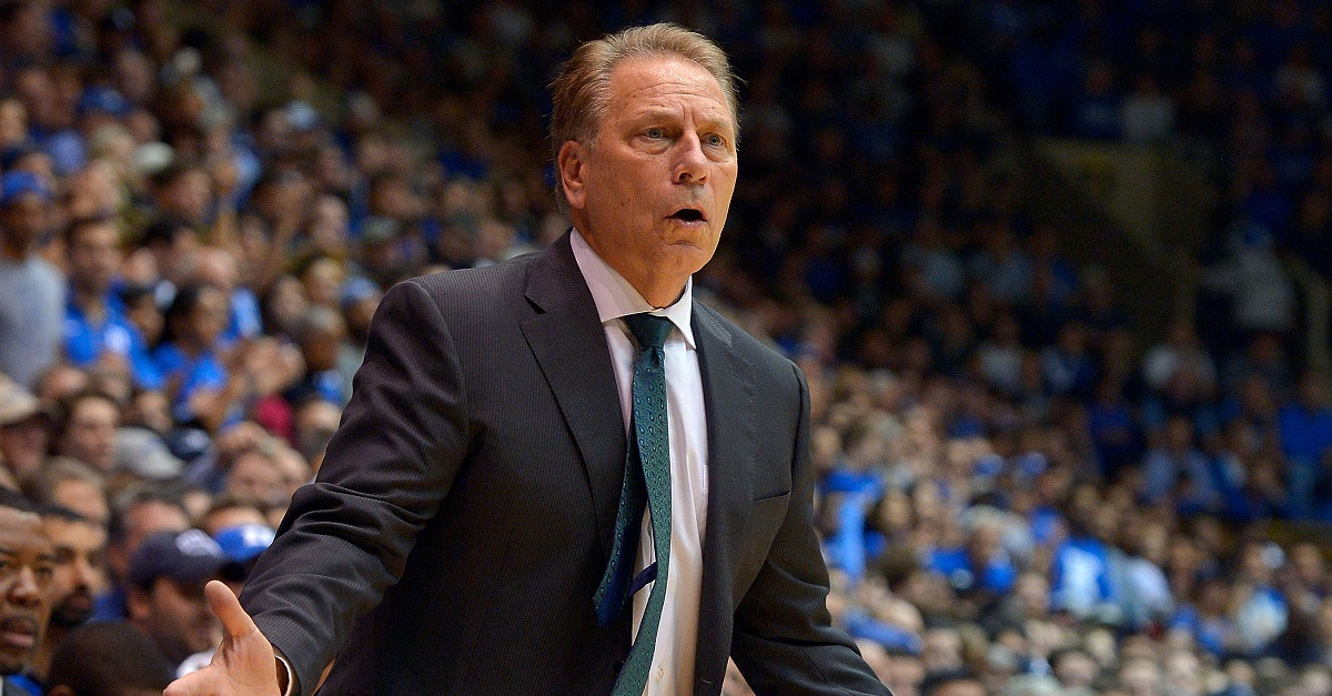 Former National Champion head coach Tom Izzo firmly responds to his coaching status