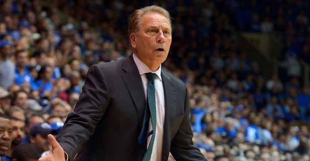 "Tom Izzo says he ""owes it to his team"" to not answer questions about scandal"