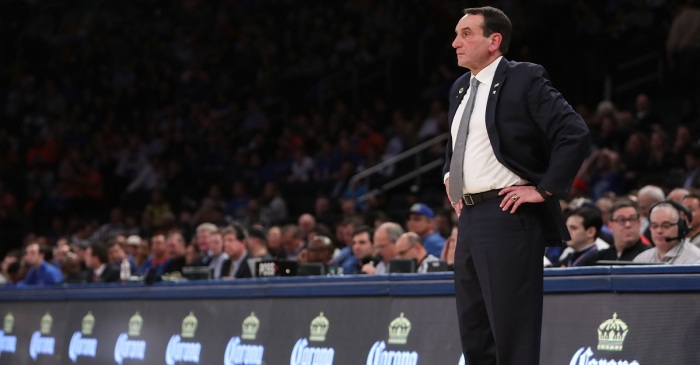 Coach K gives timeline on top freshman's injury