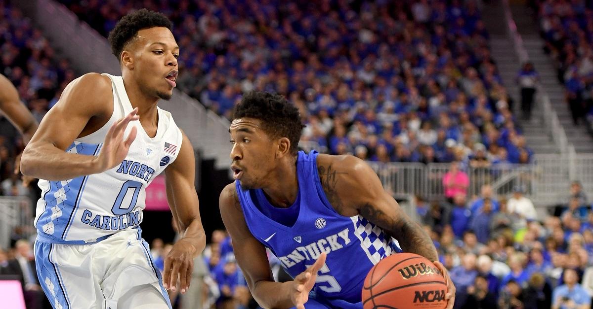 Malik Monk breaks Kentucky record in win against UNC