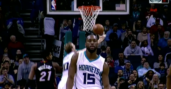 Move over Nick Young. Kemba Walker gave us easily the most embarrassing celebration of the year.