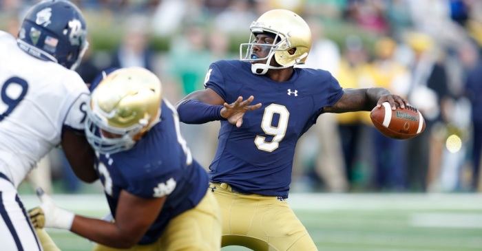 Looks like Malik Zaire may have made up his mind following SEC rule change