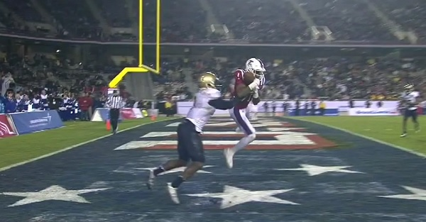 No. 25 Navy falls in bowl game after controversial pass interference call