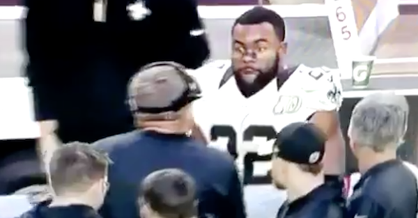 Mark Ingram lost his mind on the sideline after Saints reportedly cost him $100,000