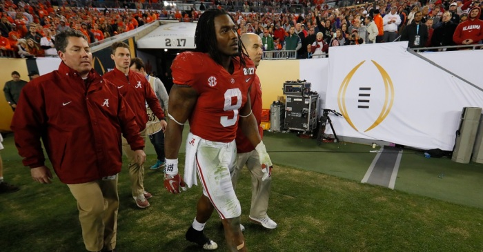 Alabama gets devastating injury news on Bo Scarbrough after loss in title game