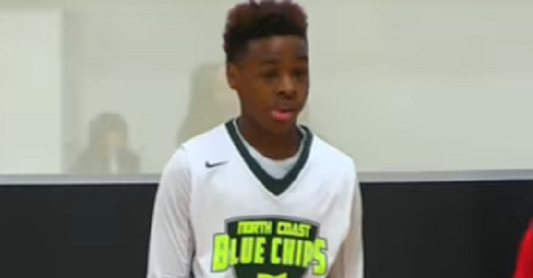 LeBron's son is at it again, absolutely shredding opponents in new hype video
