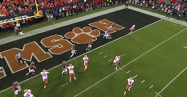 NCAA officially comments on controversial game-winning TD by Clemson
