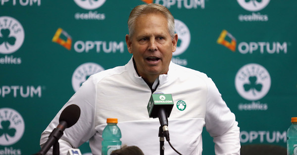 Furious Danny Ainge let loose on a potential draftee following last-minute workout cancellation