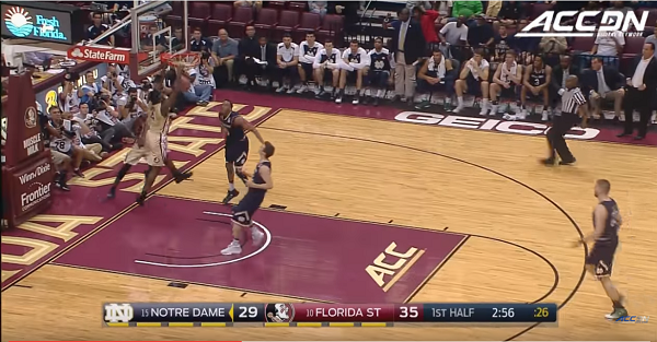 Florida State beats Notre Dame despite ridiculous shooting from Fighting Irish