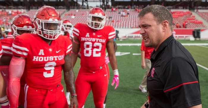Tom Herman throws shade at Ohio State after epic shutout in playoff game