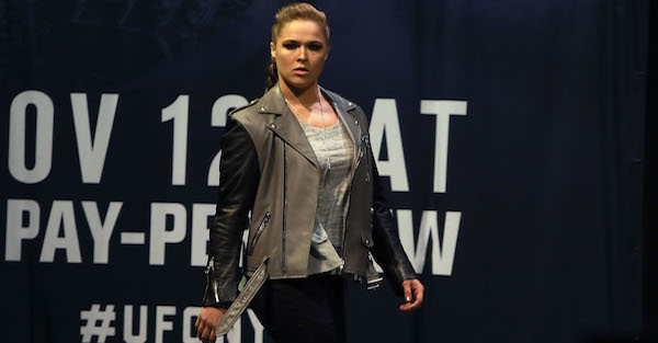 "Ronda Rousey's next ""fight"" isn't in the Octagon"
