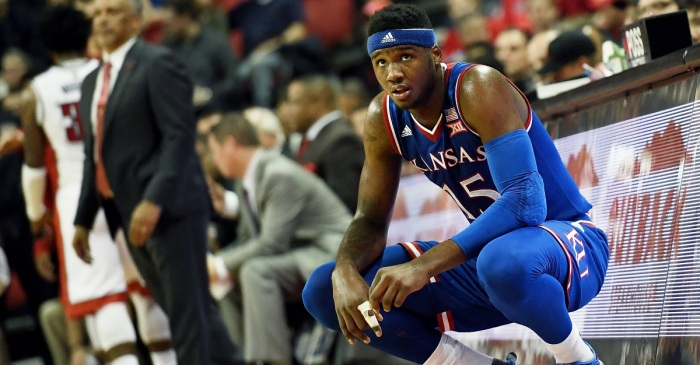 Kansas forward Carlton Bragg's suspension now made clearer with misdemeanor charge