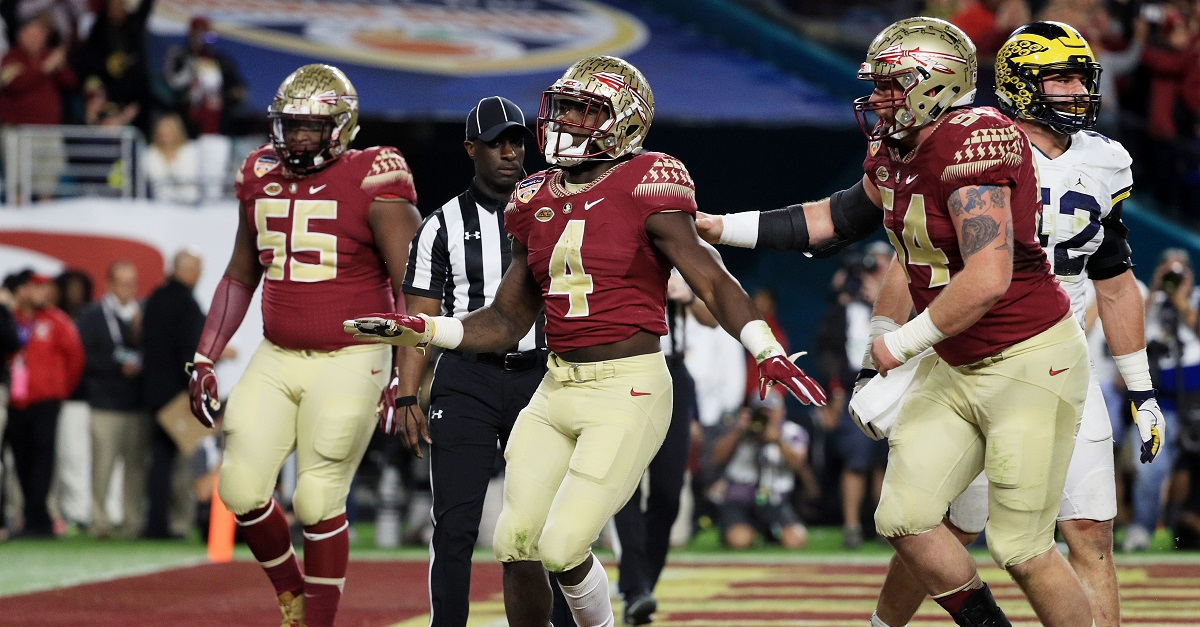 Florida State running back Dalvin Cook is finally selected in the NFL Draft
