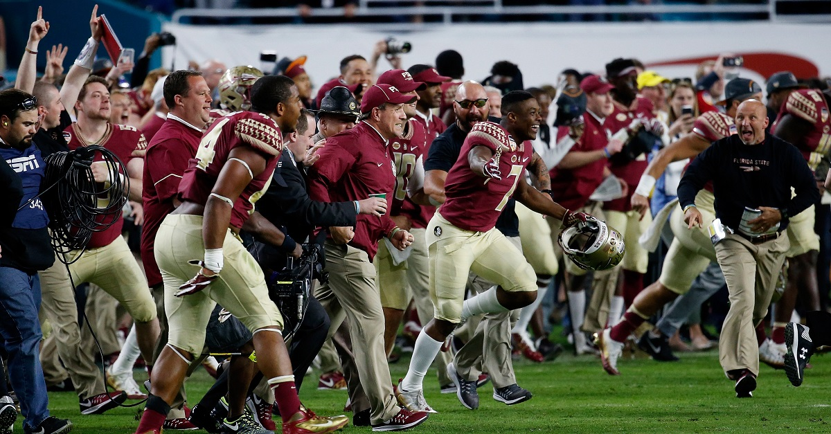 Florida State has its conference schedule and it's not a cake walk