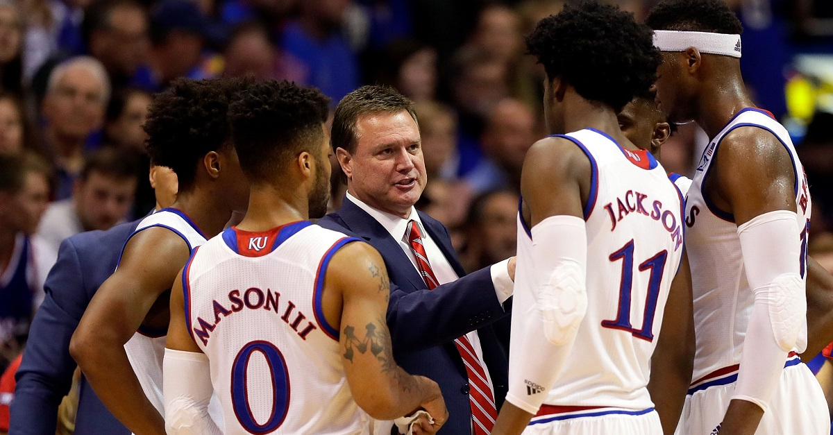Kansas keeps NCAA's longest home winning streak alive thanks to its dynamic duo