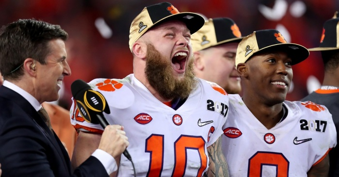 Clemson star trolls former Heisman winner after 'Achilles heel' comment