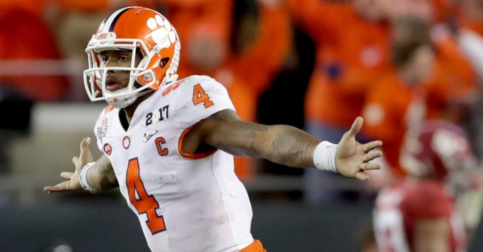 Deshaun Watson trashes Mitchell Trubisky when asked about possibility that he goes No. 1