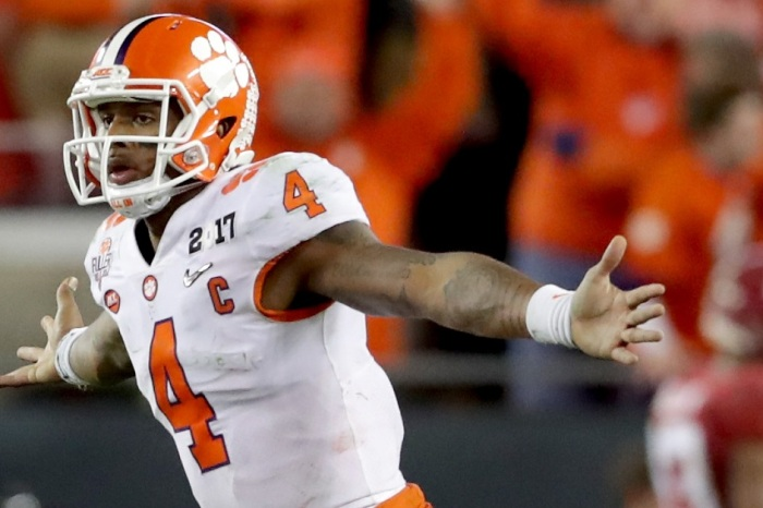 Clemson's Deshaun Watson Named CFB Player of the Decade