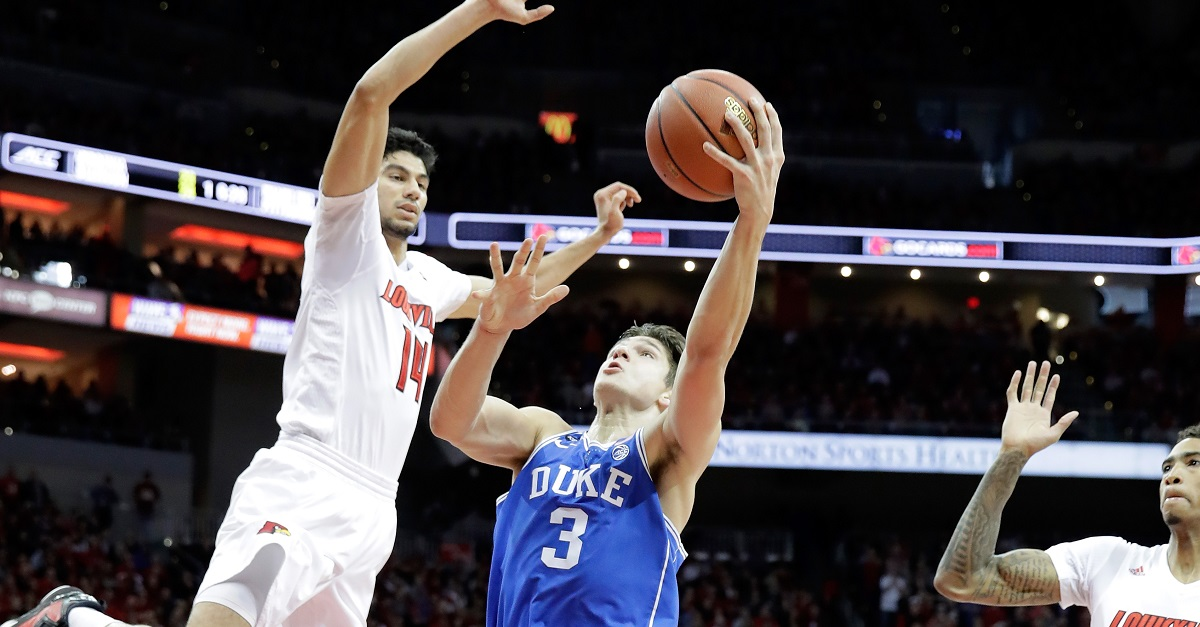 Duke in unfamiliar territory with latest loss to Louisville