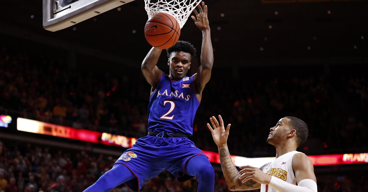 Kansas under fire once again as another player is facing serious allegations