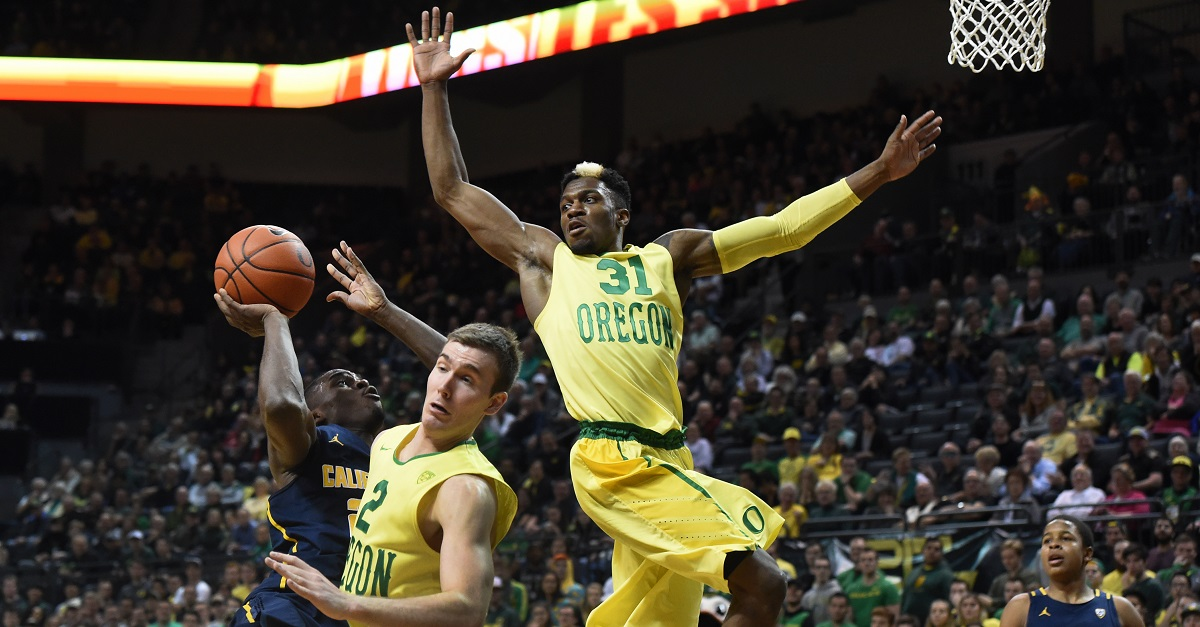 Someone got a hold of Oregon basketball's Twitter and things got very NSFW