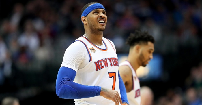 Knicks are looking desperate after reportedly reaching out to more teams to move Melo