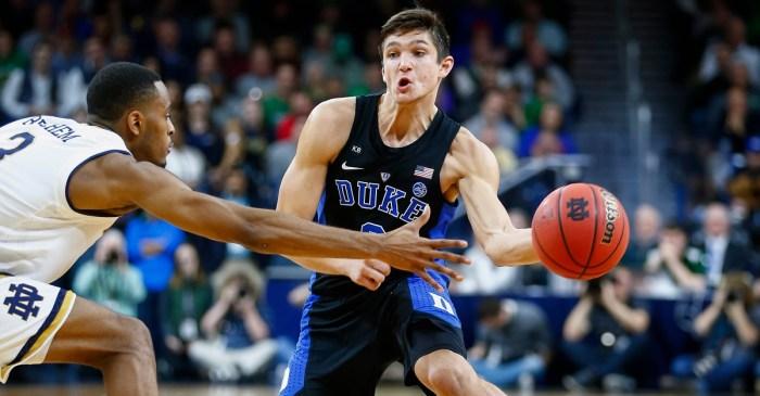 Grayson Allen leads Duke to a win it hasn't seen in over 20 years