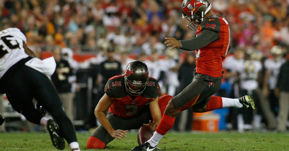 "Buccaneers' GM ""owning up"" to boneheaded decision to pick a kicker in the second round"